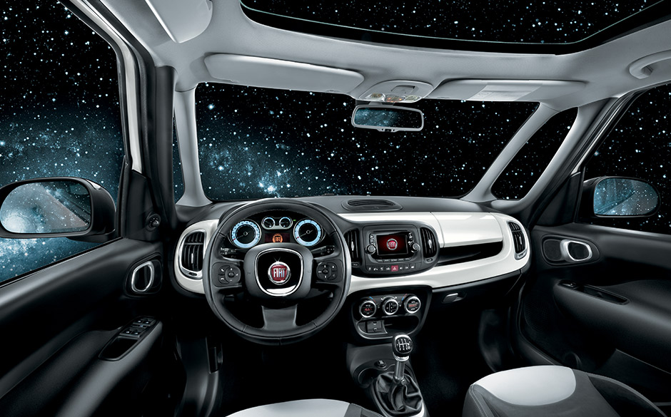 int rieur fiat 500l monospace citadin fiat. Black Bedroom Furniture Sets. Home Design Ideas