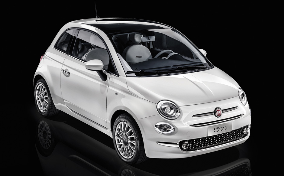 nouvelle fiat 500 petite voiture citadine fiat. Black Bedroom Furniture Sets. Home Design Ideas