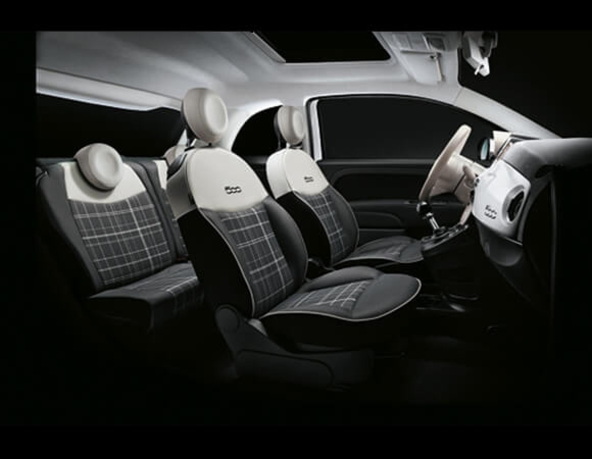 Interni Fiat 500