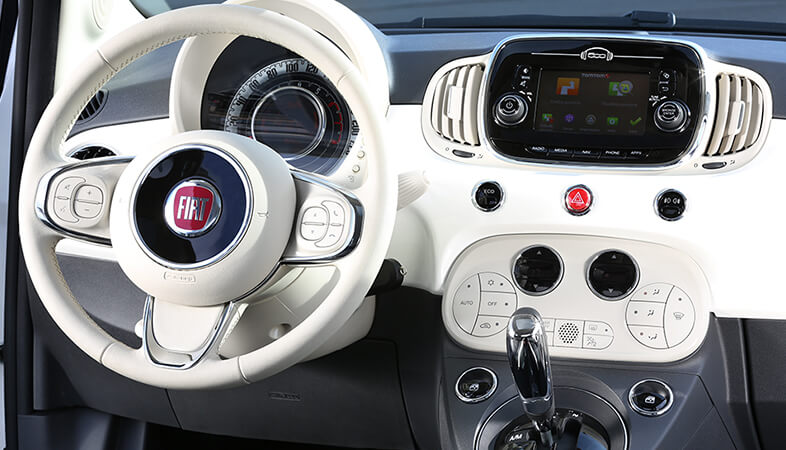 Accessoires fiat 500c for Interno 500x