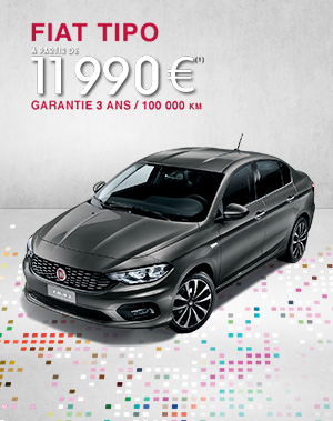 fiat tipo 2016 nouvelle berline 4 portes fiat. Black Bedroom Furniture Sets. Home Design Ideas